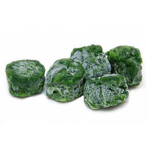 Шпинат резанный листовой замороженный весовой (цена за кг))