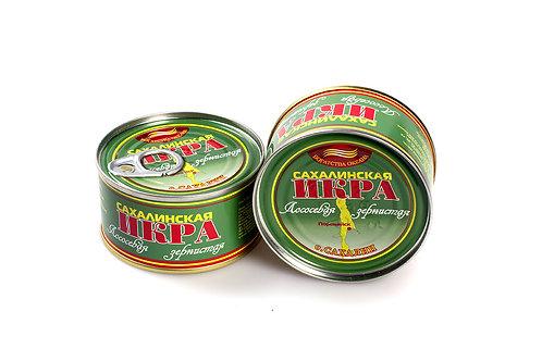Икра горбуши 140гр ж/б Сахалин (цена за шт)