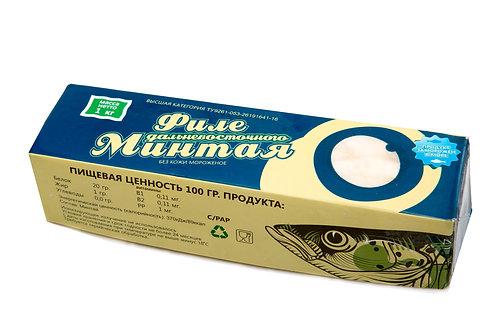 Минтай филе без кожи 1кг россия (цена за кг)