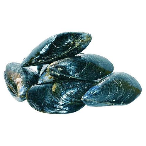 Мидии в ракушке в/м (цена за 100гр)