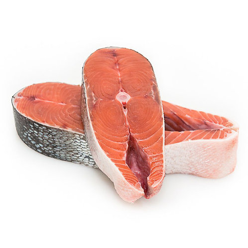 Кижуч стейк с/м весовой (цена за 100гр)