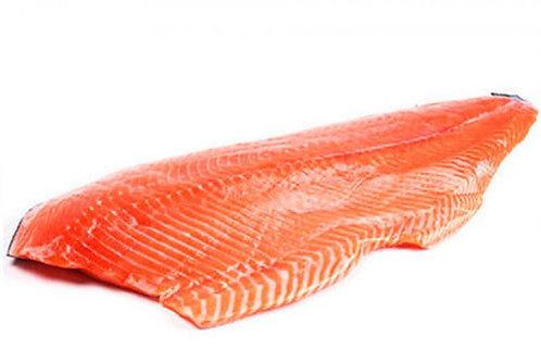 Сёмга филе на коже с/м 1,3-1,8кг Чили (цена за кг)