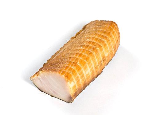 Осётр филе холодного копчения на коже (цена за кг)