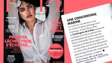 La Conciergerie de la Baie dans ELLE magazine !