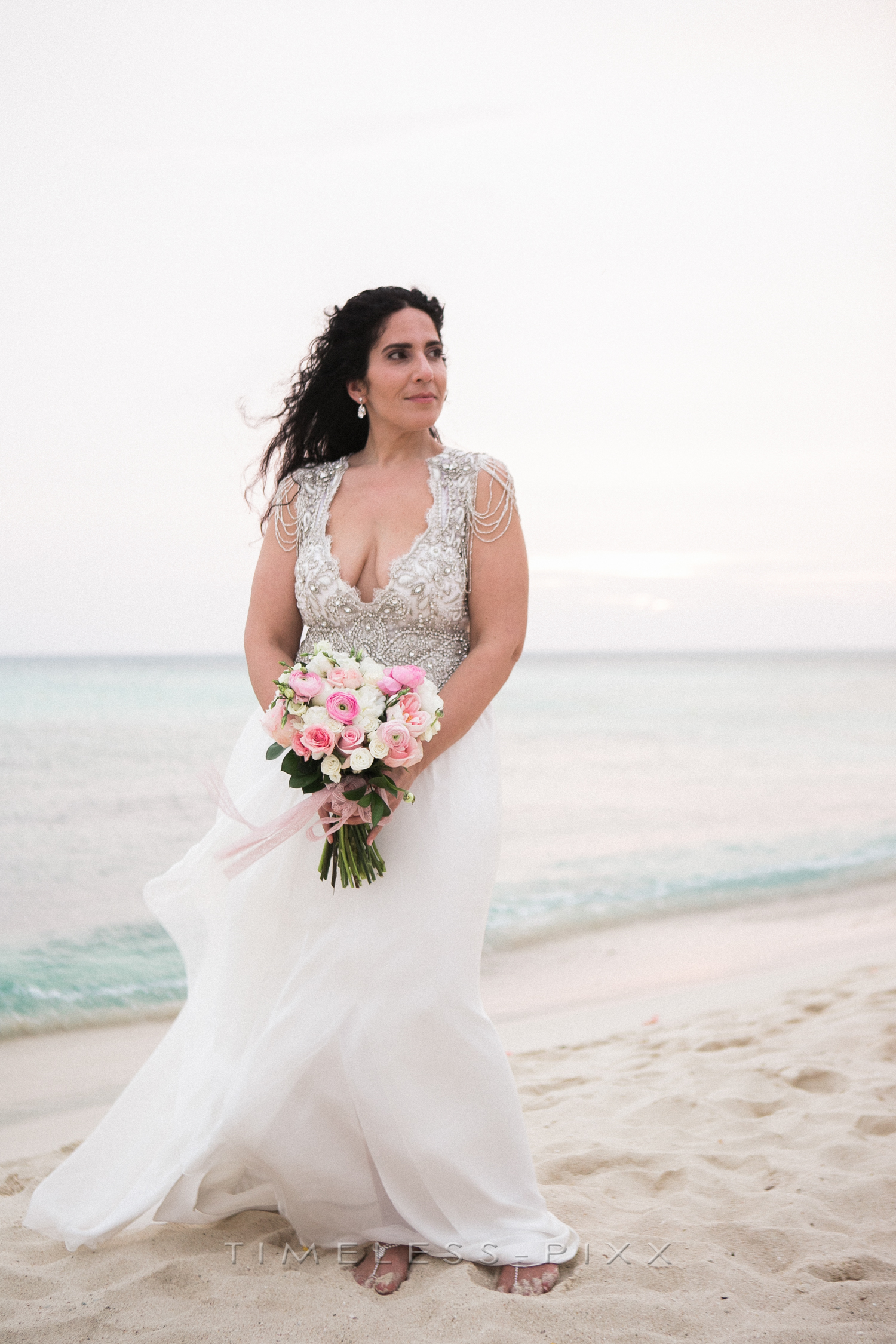 Beach Bride Aruba Photographer
