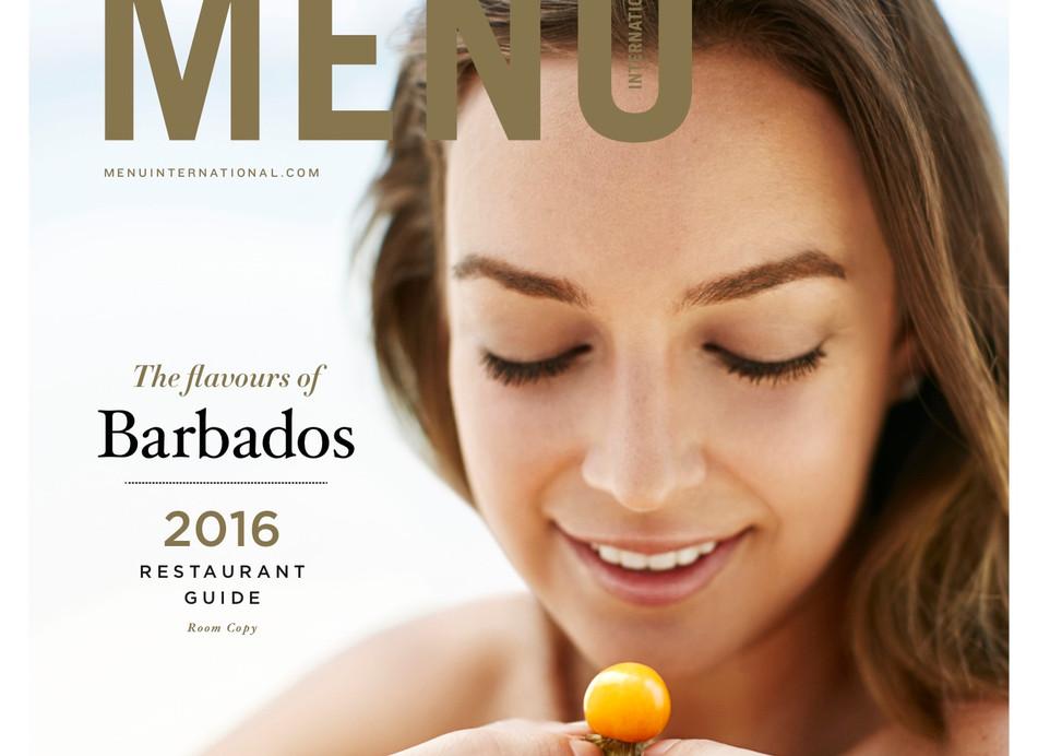 Menu Cover 2016 Barbados