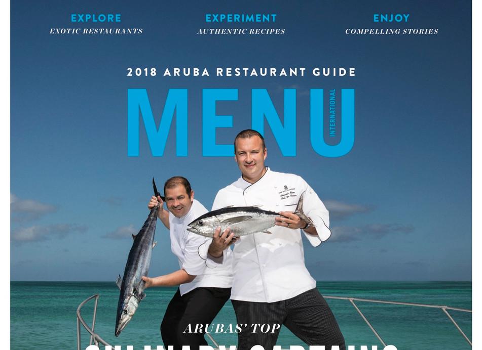 Menu Cover 2018 Aruba