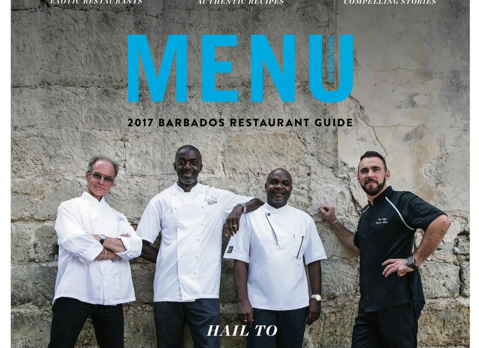 Menu Cover 2017 Barbados