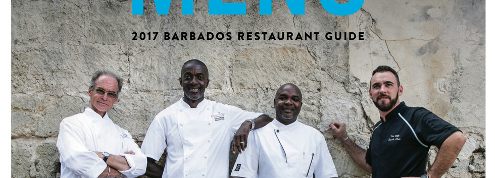 Menu Cover 2017 Barbados