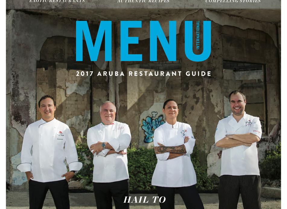 Menu Cover Aruba 2017