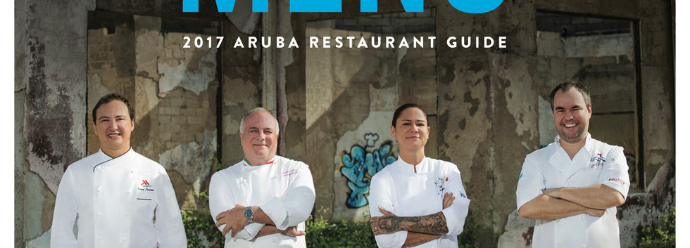 Menu Cover Aruba 2017