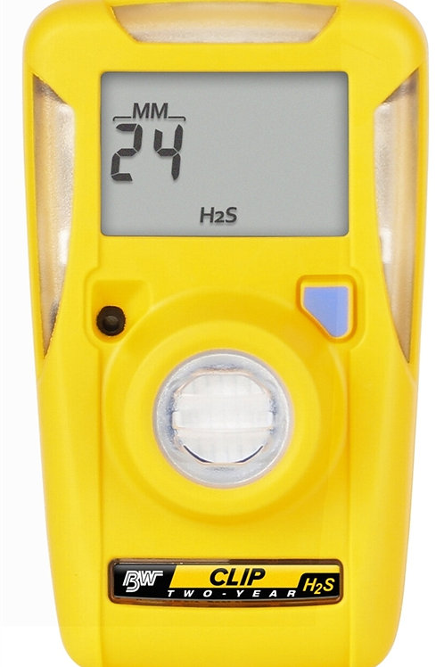 BW Clip H2S Gas Detector