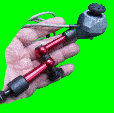 CM/J2: Light force Joystick on articulated arm.