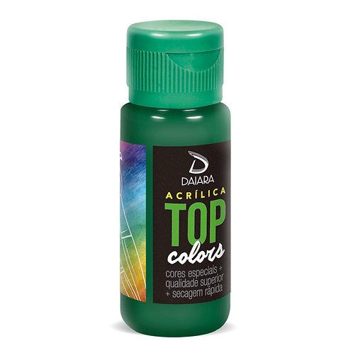 Tinta Acrílica Top Colors 60ml - 76 Verde Bosque