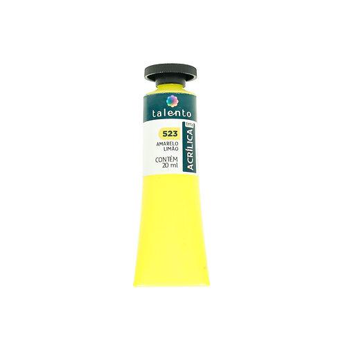 Tinta P/Tela 523 - Amarelo Limão  20ml