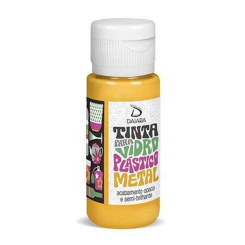 Tinta para Vidro, Plástico e Metal 60ml - 03 Amarelo Gema