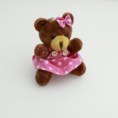 3373 - Ursa Parda 8 cm Chaveiro