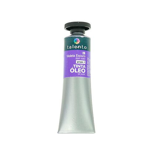 Tinta Óleo 20ml - 28 Violeta Escuro