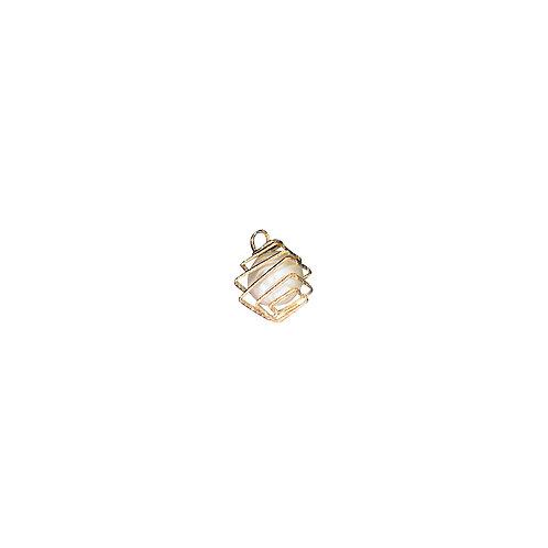6777 - - Pingente Dourado 1,5 cm C/4 UN