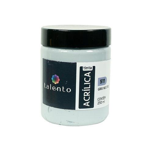 Tinta P/Tela 511 - Gris neutro 250ml