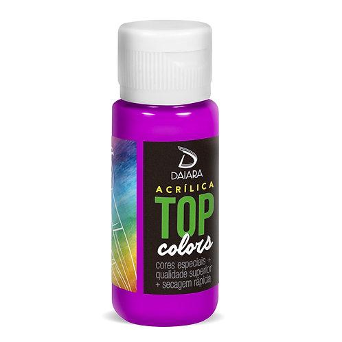 Tinta Acrílica Top Neon Colors 60ml - 305 Roxo