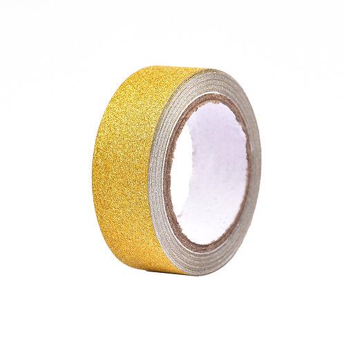 Fita Adesiva Ouro c/ Glitter 4830 - 1un.