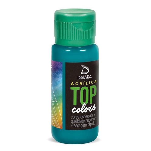 Tinta Acrílica Top Colors 60ml - 64 Azul Turquesa