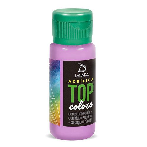 Tinta Acrílica Top Colors 60ml - 48 Hortênsia