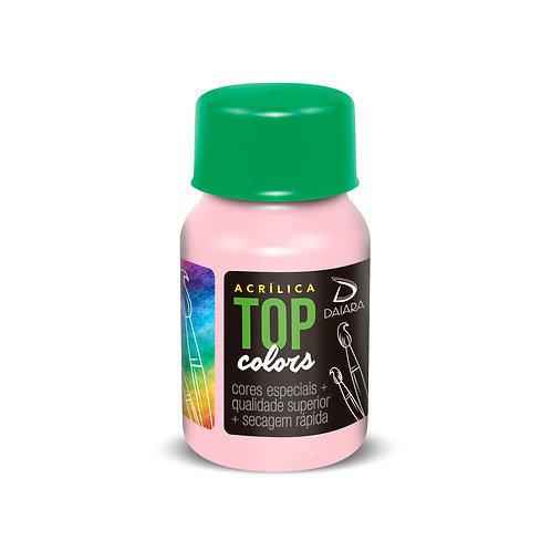 Tinta Acrílica Top Colors 37ml - 45 Rosa Soft
