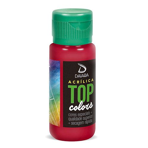 Tinta Acrílica Top Colors 60ml - 33 Rubi