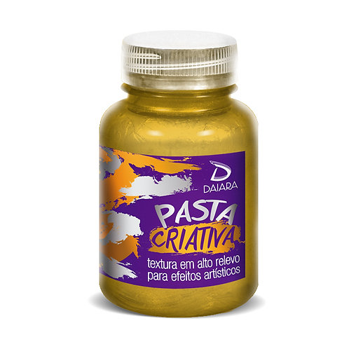 Pasta Criativa 150ml - 112 Ouro Velho