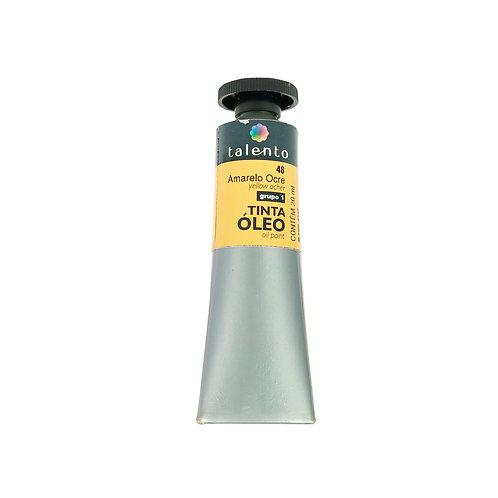 Tinta Óleo 20ml - 48 Amarelo Ocre