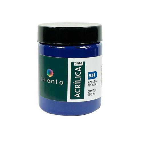 Tinta P/Tela 531 - Azul da Prússia 250ml