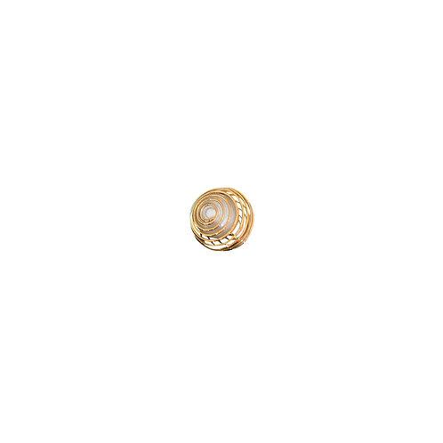 6781 - Pingente Dourado 2,0 cm C/4 UN