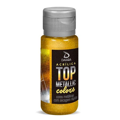 Tinta Acrílica Top Metallic Colors 60ml - 239 Ouro do Oriente