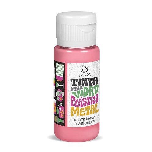Tinta para Vidro, Plástico e Metal 60ml - 08 Rosa Shock