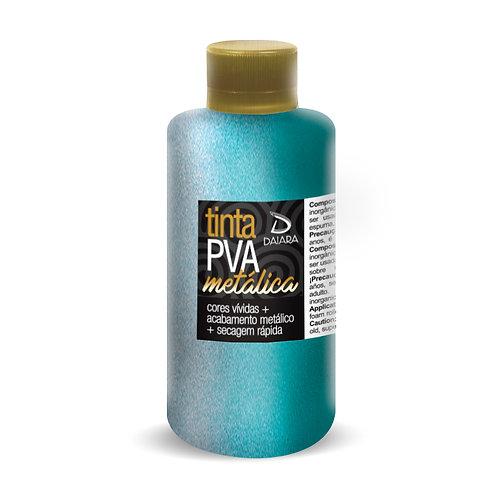 Tinta PVA Metálica 250ml - 616 Azul Turquesa