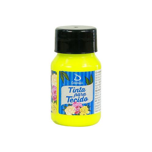 Tinta para Tecido NEON 37ml - 90 Amarelo