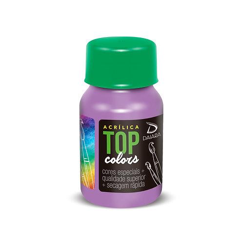 Tinta Acrílica Top Colors 37ml - 48 Hortênsia