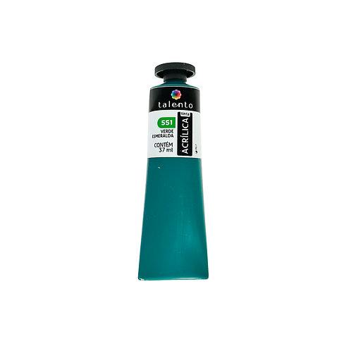 Tinta P/Tela 551 - Verde Esmeralda 37ml