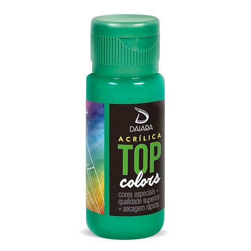 Tinta Acrílica Top Colors 60ml - 74 Esmeralda