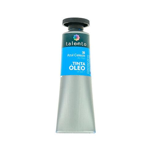 Tinta Óleo 20ml - 30 Azul Celeste