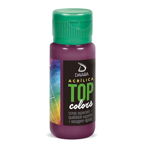 Tinta Acrílica Top Colors 60ml - 51 Orquídea
