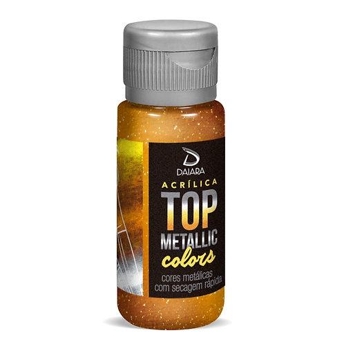 Tinta Acrílica Top Metallic Colors 60ml - 242 Ouro Velho