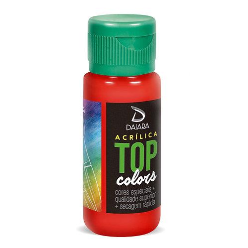 Tinta Acrílica Top Colors 60ml - 29 Vermelho