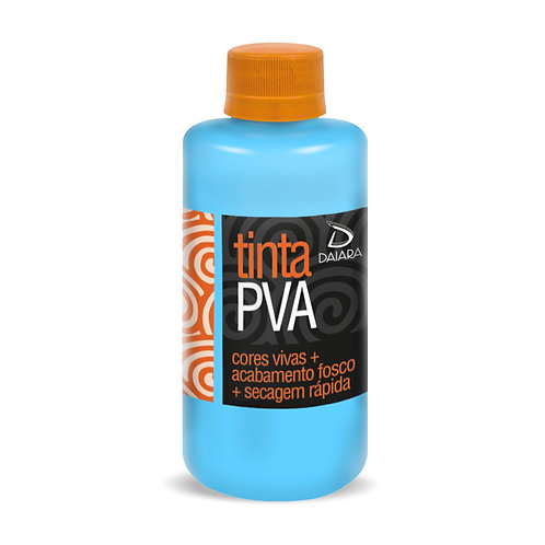 Tinta PVA Básica 250ml - 100 Azul Menino