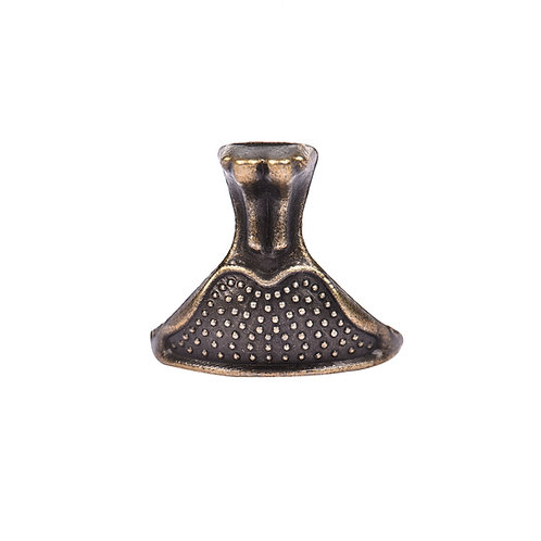 Pezinho de Zinco Bronze 5105 - 4 un.