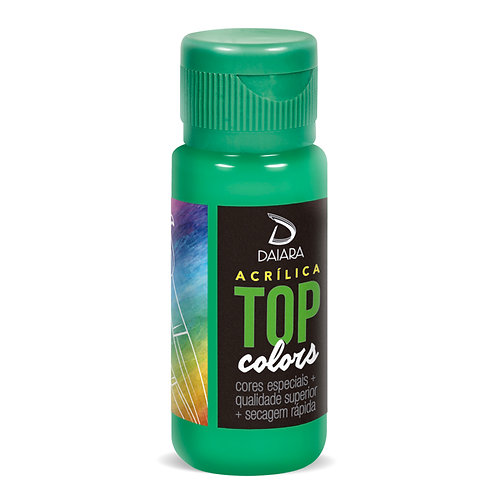Tinta Acrílica Top Colors 60ml - 75 Alface