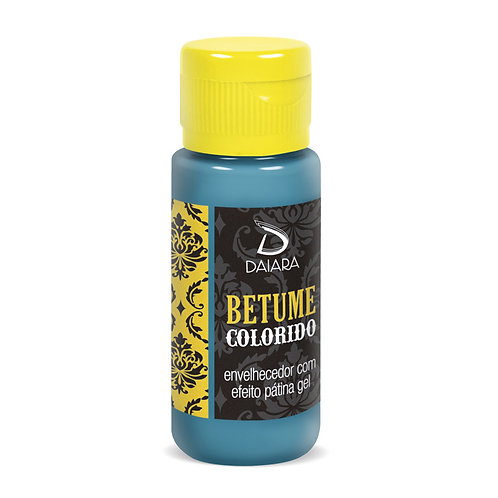 Betume Colorido 60ml - 07 Azul Caribe