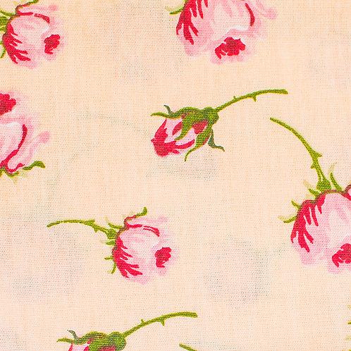 Tecido Botões de Rosa